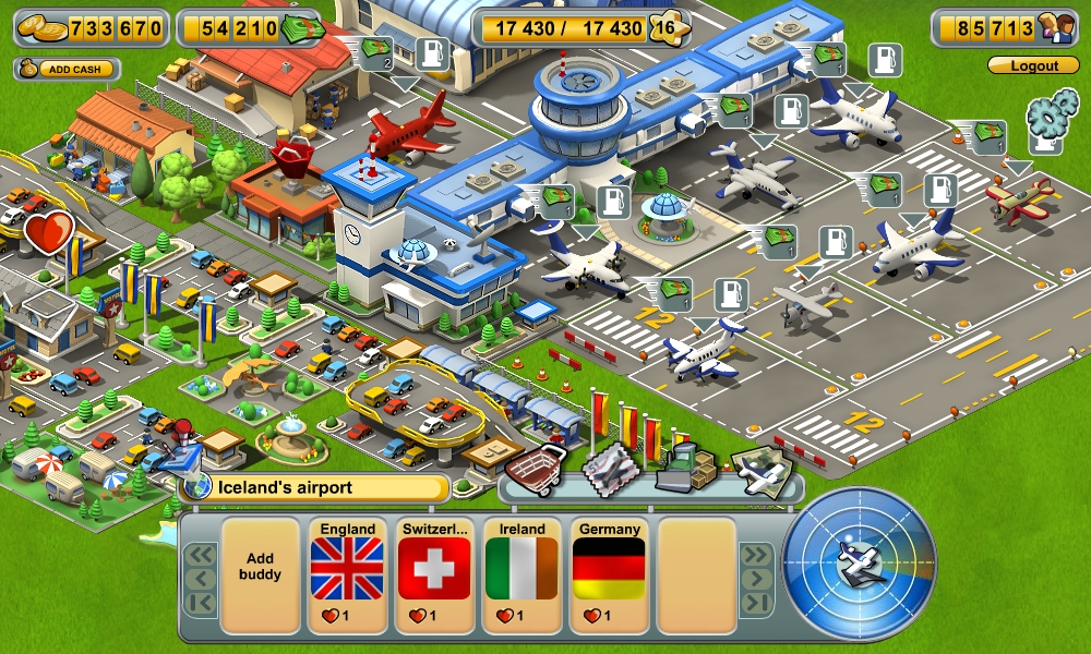 Reach for the skies in the fun new airport game Skyrama